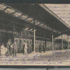 Postales: DONOSTIA - SAN SEBASTIAN - LA ESTACION - P6354. Lote 48263895