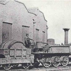 Postales: HACKWORTH´S LOCOMOTIVE. WILBERFORCE. Nº 23. STOCKTON AND DARLINGTON RAILWAY. BUILT 1831. NOT USED.. Lote 48648855