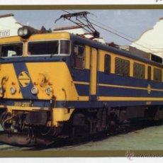 Postales: POSTAL TRENES RENFE. ( Nº 26 BORDE DORADO ). LOCOMOTORA 269.. Lote 184435128