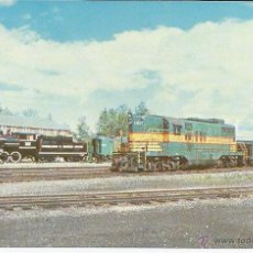 Postales: USA RAILWAYS POSTCARD (009) - PUBLISHER MARY JAYNE,YEAR 1996 UNUSED. Lote 50503166