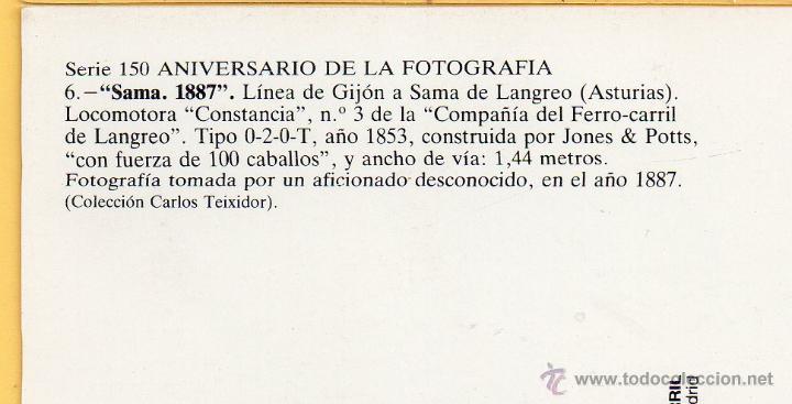 Postales: Foto parte detrás - Foto 3 - 50611519