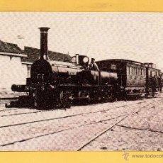 Postales: POSTAL DE TRENES REINOSA SANTANDER EL AÑO 1857 EDICION ASOCIACION DE AMIGOS FERROCARRIL MADRID. Lote 50663651