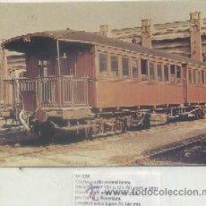 Postales - POSTAL DE TRENES Nº 338. COCHE PASILLO CENTRARL NORTE. CONST. CARDE Y ESCORIAZA EN 1910 P-TREN-1122 - 50955063