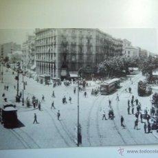 Postales: EUROFER AMICS DEL FERROCARRIL Nº 4100 TRANVÍAS DE BARCELONA, LINEA 30 PLAÇA ROVIRA (AÑO 1955-1956). Lote 261913885