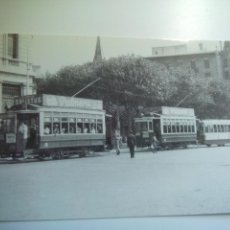 Postales: EUROFER AMICS DEL FERROCARRIL Nº 4128 TRANVÍAS DE BARCELONA, COCHE 239 PLAZA CATALUÑA (JULIO 1949). Lote 52619044