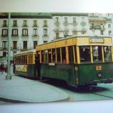 Postales: EUROFER AMICS DEL FERROCARRIL Nº 302 TRANVIAS DE ZARAGOZA COCHE 82 (FOTO 1971). Lote 261914190