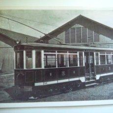 Postales: EUROFER AMICS DEL FERROCARRIL Nº 4055 TRAMVIA DE L'ARRABASSADA BARCELONA 1910-1939. Lote 261914465
