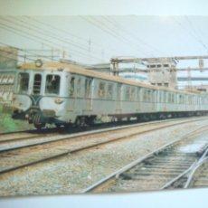 Postales: EUROFER AMICS DEL FERROCARRIL Nº 393 UNIDAD ELECTRICA 434 (EX 400) LUCHANA (AÑO 1986). Lote 52628741