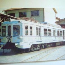 Postales: EUROFER AMICS DEL FERROCARRIL Nº 844 F.C. BILBAO PORTUGALETE SERIE 400 RENFE MUSEO DE AZPEITIA (1996. Lote 52628762