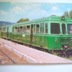 Postales: EUROFER AMICS DEL FERROCARRIL Nº 82 AUTOMOTOR CGFC Nº 3004 PIERA (AÑO 1977). Lote 52628866
