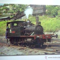 Postales: EUROFER AMICS FERROCARRIL Nº 189 LOCOMOTORA 120T BILBAO EN LAVADERO DE TURON (OVIEDO). Lote 52909412