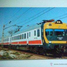 Cartes Postales: EDICIONES DEL TREN *ELECTROTREN SERIE 432* Nº 6 ESTACION DE LA ALMOZARA ZARAGOZA (FOTO AÑO 1997). Lote 53010591