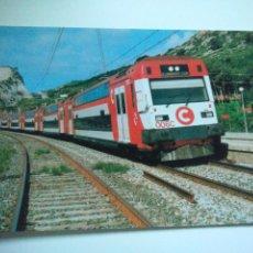 Cartes Postales: EUROFER AMICS FERROCARRIL Nº 420 UNIDAD TREN SERIE 450 ESTACION DE GARRAF BARCELONA (AÑO 1993) . Lote 53010974