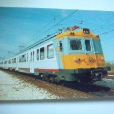 Cartes Postales: EUROFER AMICS FERROCARRIL Nº 145 UNIDAD ELECTRICA WM 656 WR 670 WRCD 621 ZARAGOZA (AÑO 1987). Lote 53012431