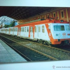 Postales: EUROFER AMICS FERROCARRIL Nº 343 U/T UTBD 9-435-010-4 ESTACION DE LEON (FOTO AÑO 1992). Lote 53012588