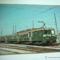 Cartes Postales: EUROFER AMICS FERROCARRIL Nº 285 UNIDAD ELECTRICA 439-029 MIRANDA DE EBRO (FOTO AÑO 1981). Lote 53012749