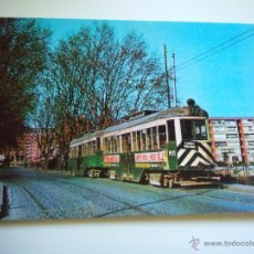 Postales: EDICIONS FERROVIARIES Nº 18 TRANVIAS BARCELONA URBAS COCHE M-11 CARRETERA DE MATARO (AÑO 1964). Lote 53125148