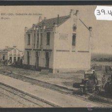 Postales: FERROCARRIL - ZELUAN - CAMPAÑA DEL RIF 1921 - ED· POSTAL EXPRES - HAUSER Y MENET - (39412). Lote 53304244
