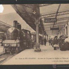 Postales: FERROCARRIL - ESTACION DE BELLEGARDE , FRANCIA - (39415). Lote 53304287