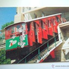 Postales: EUROFER AMICS FERROCARRIL Nº 486 FUNICULAR DEL MONTE IGUELDO SAN SEBASTIAN (AÑO 1993). Lote 53496281