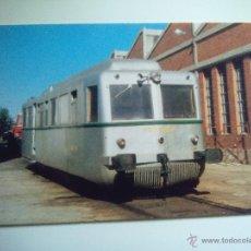 Cartes Postales: EUROFER AMICS FERROCARRIL Nº 454 AUTOMOTOR TERMICO 590-162-4 DEPOSITO ZARAGOZA DELICIAS (AÑO 1988). Lote 53497093