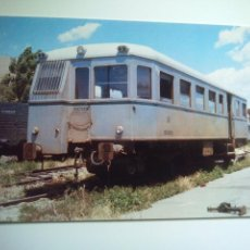 Cartes Postales: EUROFER AMICS FERROCARRIL Nº 485 AUTOMOTOR 9157 EX CENTRAL DE ARAGON- DEPOSITO DE VALENCIA (AÑO 1968. Lote 53497141