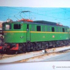Cartes Postales: EUROFER AMICS FERROCARRIL Nº 897 LOCOMOTORA ELECTRICA 7405 SERIE 7401/7424 CONSTRUIDA EN 1944. Lote 53507639