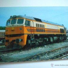 Cartes Postales: EUROFER AMICS FERROCARRIL Nº 100 RENFE LOCOMOTORA 319-219-2 RESERVA DE VALENCIA TERMINO (AÑO 1986). Lote 53508249