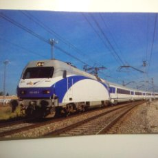 Cartes Postales: POSTAL EUROFER Nº 689 TREN ARCO EN PRUEBAS LOCOMOTORA 252.021 FUENCARRAL APEADERO MADRID (AÑO 1999). Lote 53518529