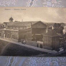 Postales: ESTACION TRANVIA PALAMOS. POSTAL EDICIONES LA GUTEMBERG, PALAMOS. Lote 54086978