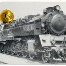 Postales: POSTAL TREN FERROCARRIL ANDORRA-ESCATRON 1953-1983 LOCOMOTORA ESCATRON. Lote 54542493