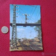 Postales: TARJETA POSTAL POST CARD HISTORIA FERROCARRIL ESPAÑOL TREN TRAIN SEÑAL SEMAFORICA MADRID ATOCHA VER . Lote 54671336