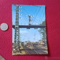 Postales: TARJETA POSTAL POST CARD HISTORIA FERROCARRIL ESPAÑOL TREN TRAIN SEÑAL SEMAFORICA MADRID ATOCHA VER . Lote 54671348