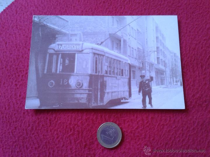 POSTAL POSTCARD VER FOTO/S I CENTENARIO DEL TRANVIA EN ZARAGOZA FINAL DE LA LINEA 17 LAS FUENTES VER (Postales - Postales Temáticas - Trenes y Tranvías)