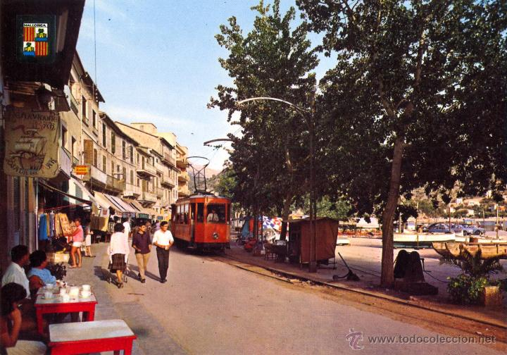 PORT DE SOLLER. TRANVÍA (Postales - Postales Temáticas - Trenes y Tranvías)