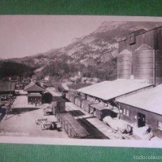 Postales: POSTAL - EUROPA - SUIZA - 12 STATION JNNERTKIRCHEN - KRAFTWERK OBERHASLI - PHOTO SALATHÉ GUTTANNEN . Lote 56475211
