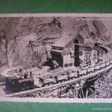 Postales: POSTAL - EUROPA - SUIZA - 33 BAUSTELLE - STAUMAUERN GRIMSEL - PHOTO SALATHÉ GUTTANNEN - 1928. Lote 56475340