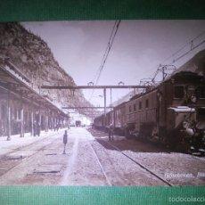 Postales: POSTAL - EUROPA - SUIZA - ESTACIÓN GÖSCHENEN BAHNHOF - EDITION FOTOGLOB CO. Y 2122 - NUEVA . Lote 56481464
