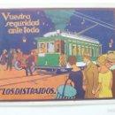 Postales: TRANVIAS DE BARCELONA. SEC. PROPAGANDA. EXPOSICIÓN 1929. POSTAL ORIGINAL. Lote 58154994