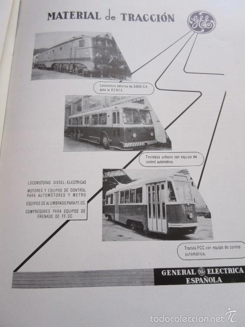 Publicidad 1957 trenes general electric tra comprar - General electric madrid ...