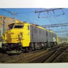 Cartes Postales: EUROFER- 150 AÑOS FFCC EN ESPAÑA- Nº 12 LOCOMOTORA 251.008 CHOPPER ESTACION VILLAVERDE BAJO (1994). Lote 58271225