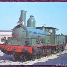 Postales: LOCOMOTORA DE VAPOR - VILANOVA I GELTRU - EUROFER 260. Lote 58949840