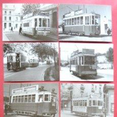 Postales: COLECCIÓN DE 10 POSTALES DEL TRANVÍA DE MATARÓ - ARGENTONA - SERIE CONMEMORATIVA 1991. Lote 60199267