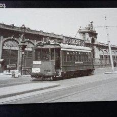 Postales: POSTAL Nº 4114 TRANVIA / TRANVIES / TRAMVIES DE BARCELONA - EUROFER - EUROFER. Lote 63350892