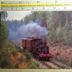 Postales: POSTAL DE TRENES FERROCARRILES TRANVÍAS FUNICULARES AÑO 1989 TREN LOCOMOTORA VAPOR DE NORUEGA 997. Lote 194125326