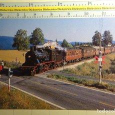 Postales: POSTAL DE TRENES FERROCARRILES TRANVÍAS FUNICULARES AÑO 1984 TREN LOCOMOTORA VAPOR DE NORUEGA 998. Lote 194125328
