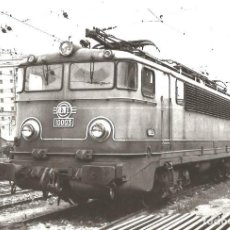Postales - Locomotora eléctrica 10003. RENFE - 70263153