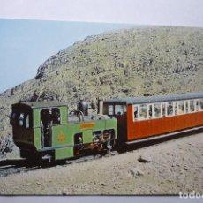 Postales: POSTAL EXTRANJERA TREN SNOWDON MOUNTAIN RAILWAY. Lote 71027773