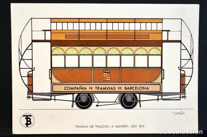 Postales: COLECCIÓN LOTE 56 POSTALES CENTENARIO DEL TRANVÍA VEHÍCULOS TRANSPORTES DE BARCELONA - Foto 2 - 73005487