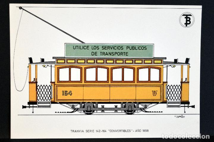 Postales: COLECCIÓN LOTE 56 POSTALES CENTENARIO DEL TRANVÍA VEHÍCULOS TRANSPORTES DE BARCELONA - Foto 12 - 73005487